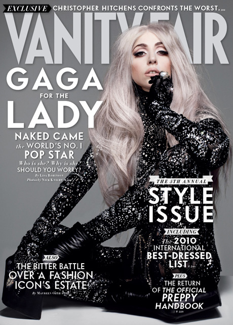 Lady gaga magazine cover