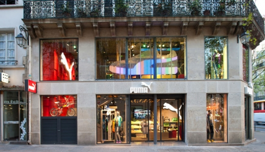 the puma store paris